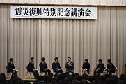 代表生徒とのトークショー